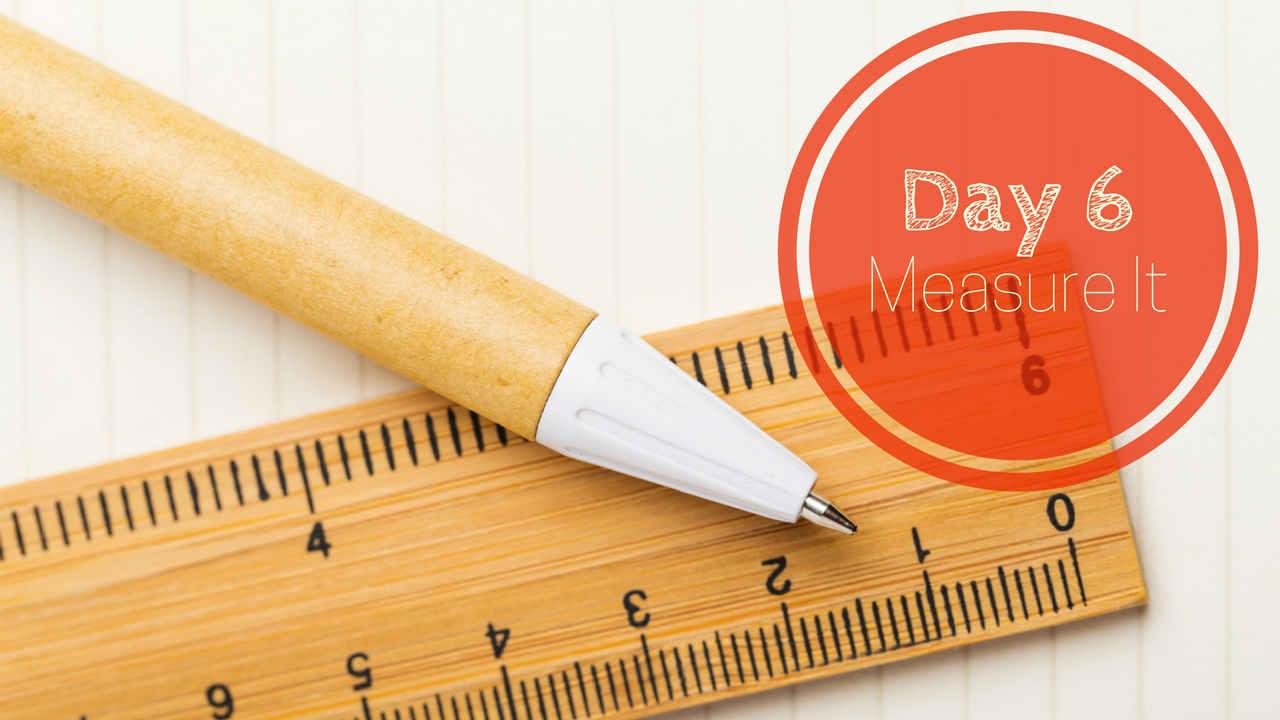 Day 6 - Measure It-sm