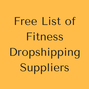 Free List of Fitness Dropshipping Suppliers
