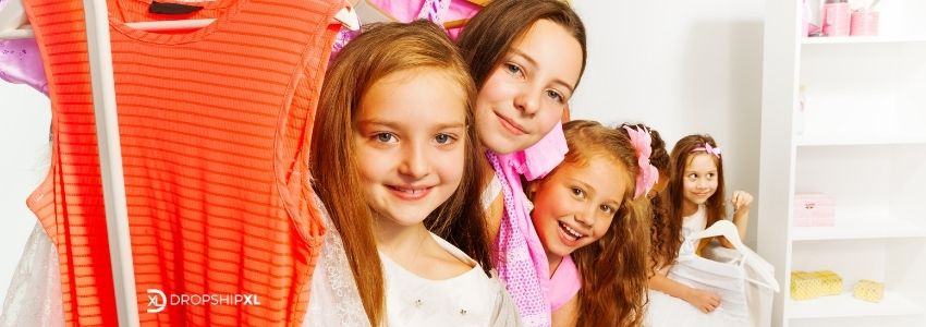 Trendy Stores with Children Clothing which work as Dropship Suppliers